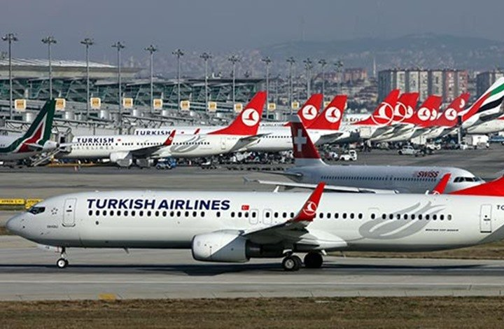 الخطوط التركية تواصل صدارتها أوروبيا بـ603 رحلات يومية